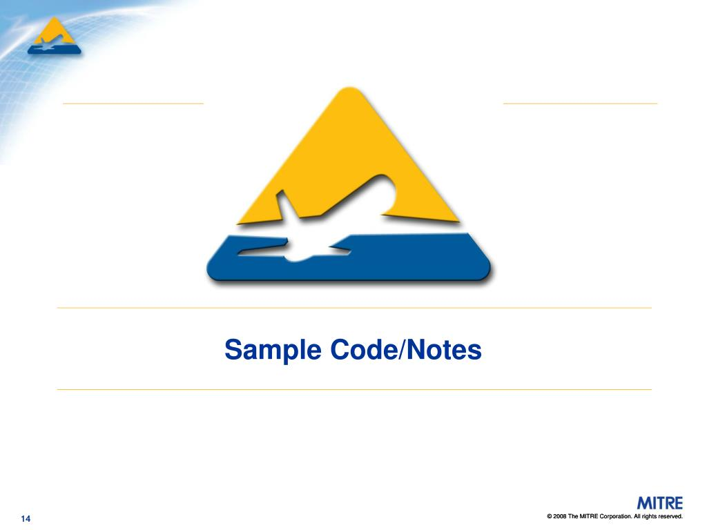 Sample Code/Notes