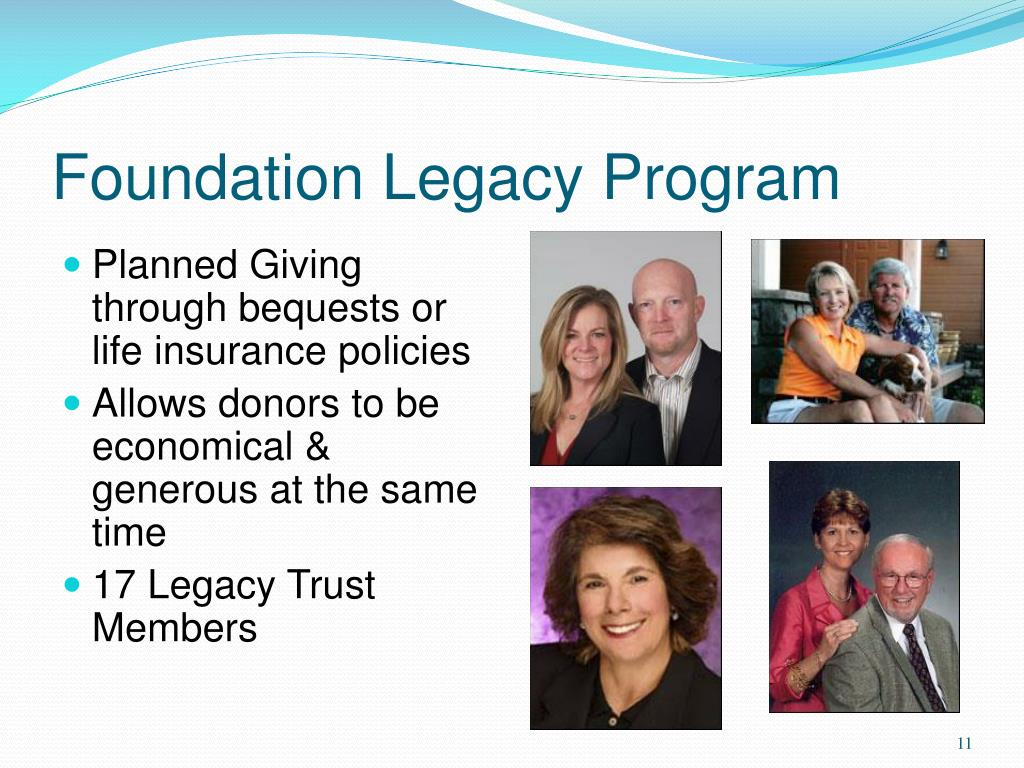 Foundation Legacy Program