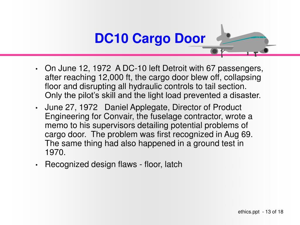 DC10 Cargo Door