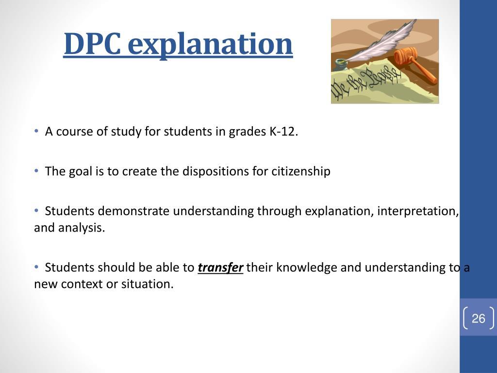 DPC explanation
