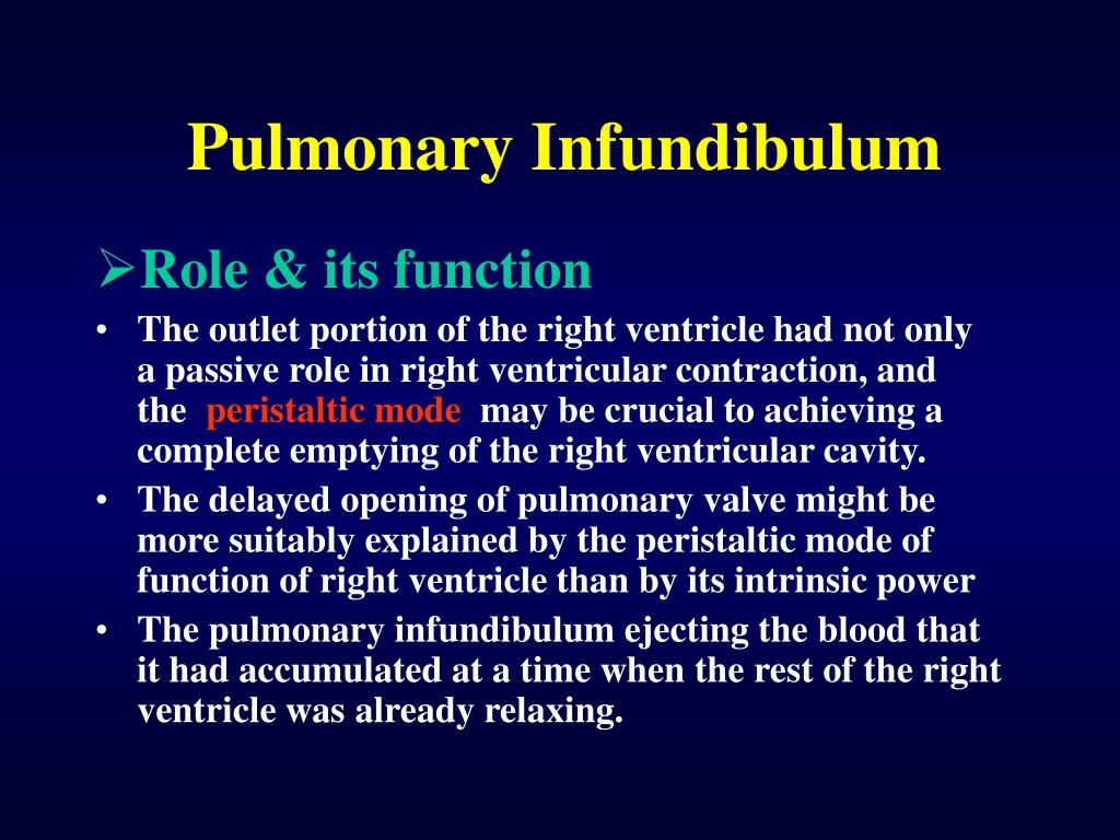 Pulmonary Infundibulum