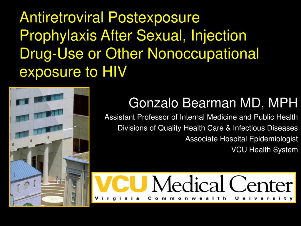 Antiretroviral Postexposure Prophylaxis After Sexual, Injection Drug-Use or Other Nonoccupational exposure to HIV