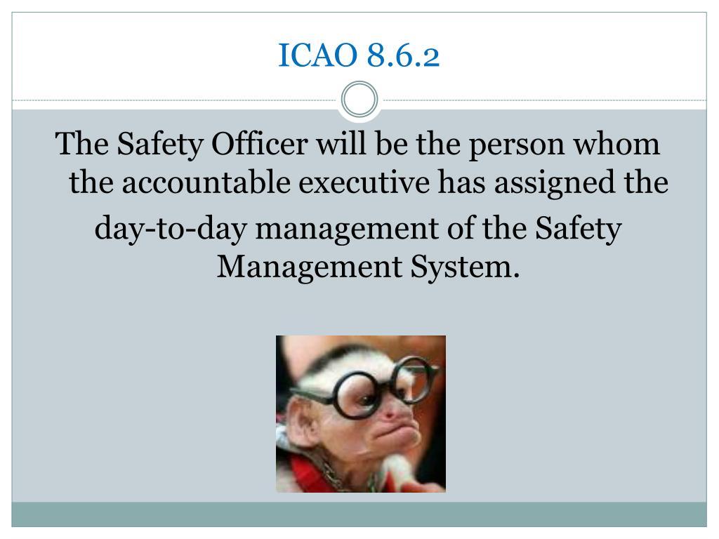 ICAO 8.6.2