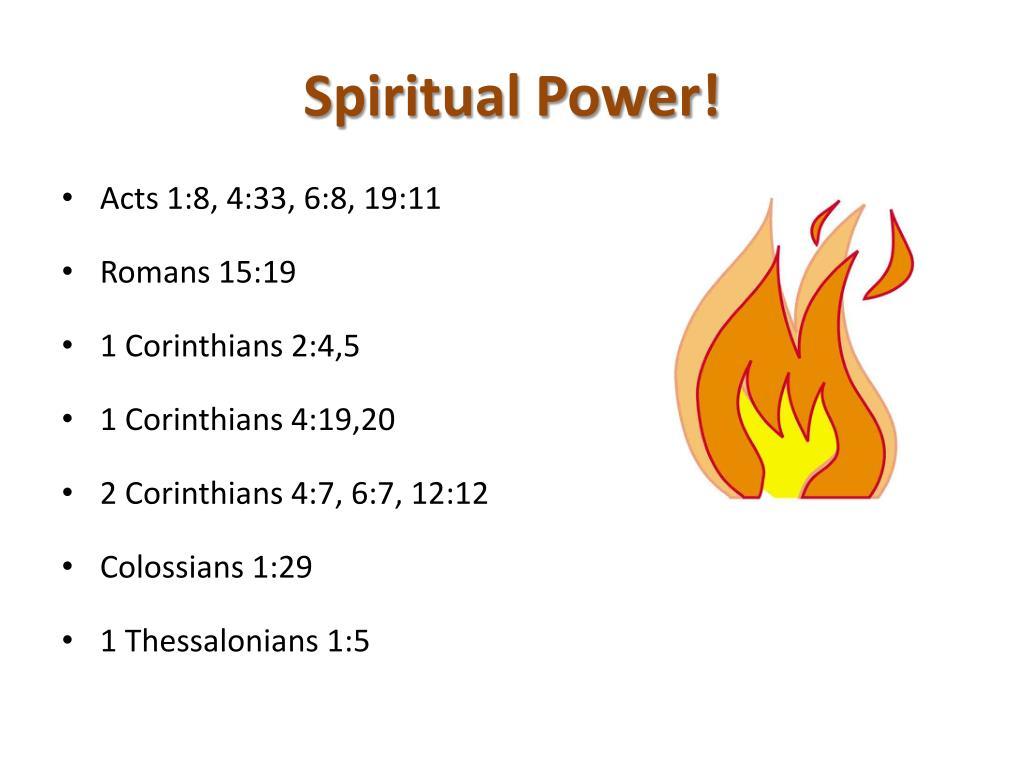 Spiritual Power!