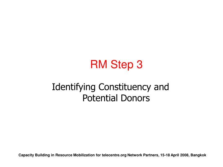 RM Step 3