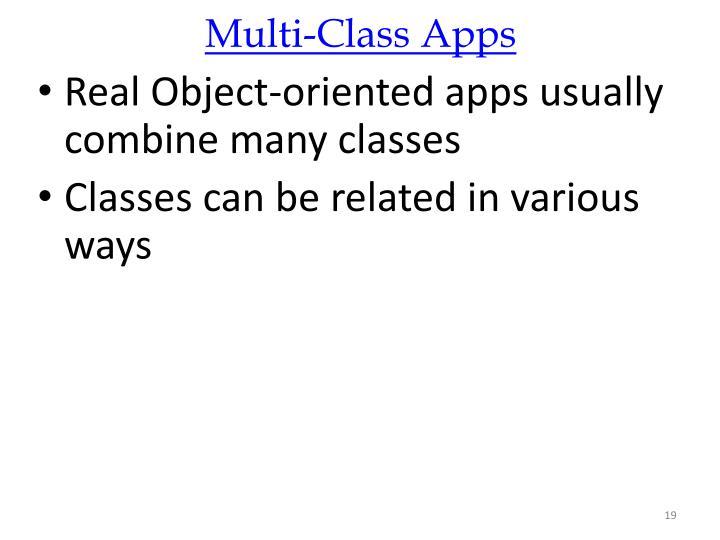 Multi-Class Apps