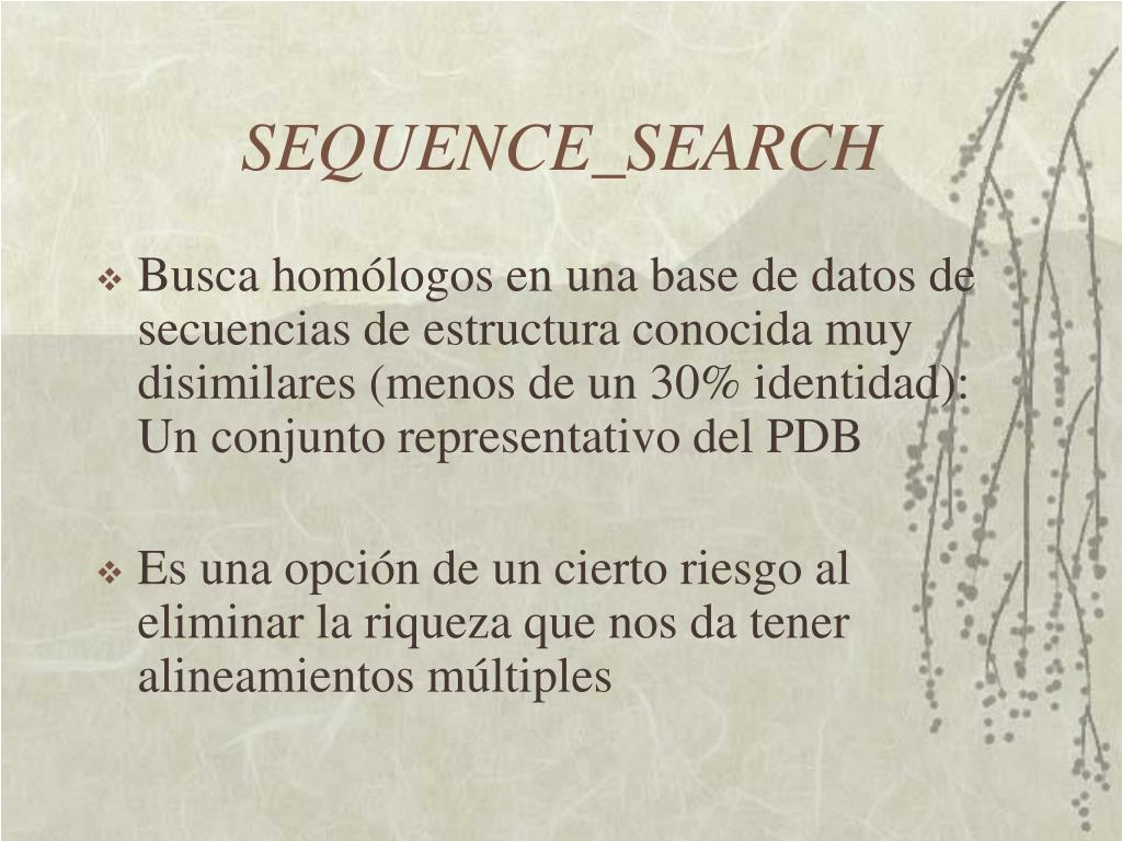 SEQUENCE_SEARCH