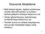 ekonomik modelleme17