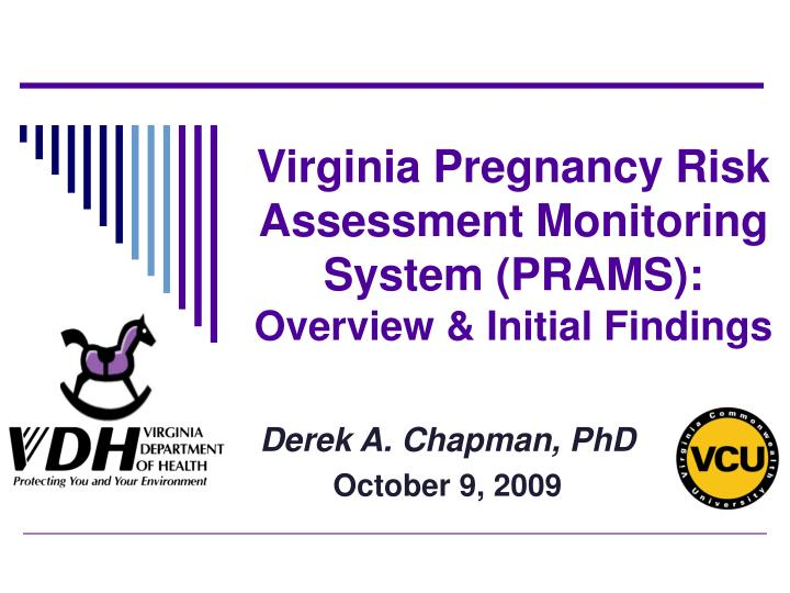 Virginia pregnancy risk assessment monitoring system prams overview initial findings