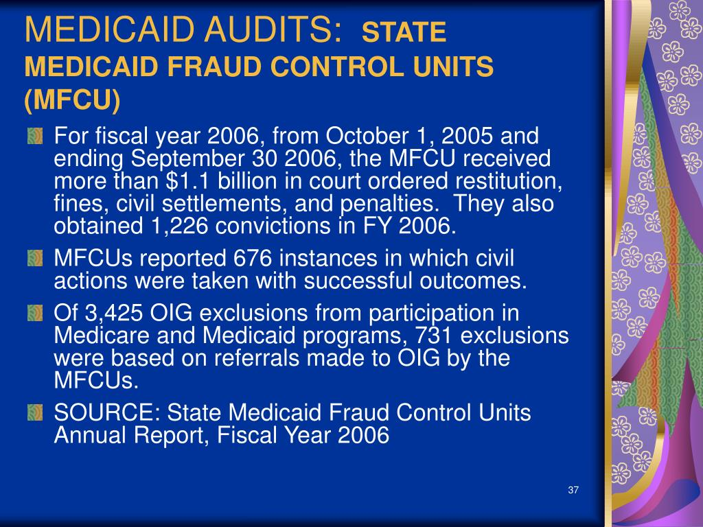 MEDICAID AUDITS: