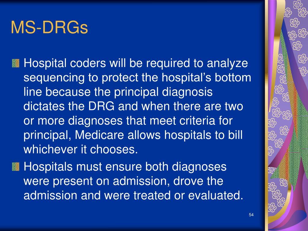 MS-DRGs