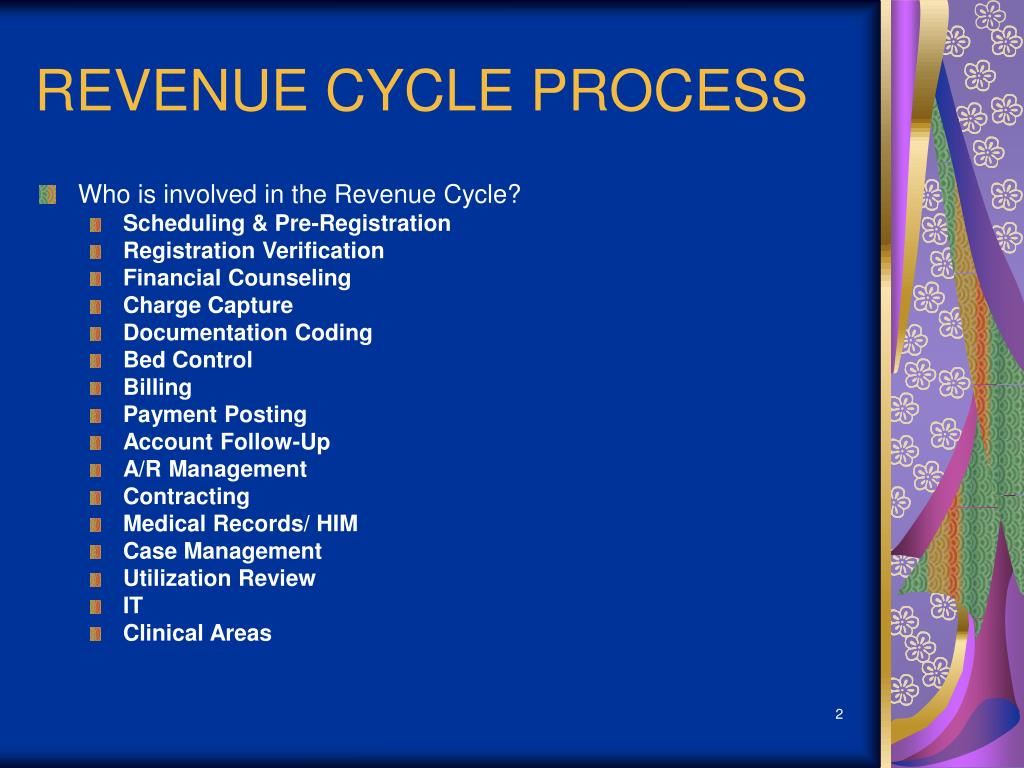 REVENUE CYCLE PROCESS
