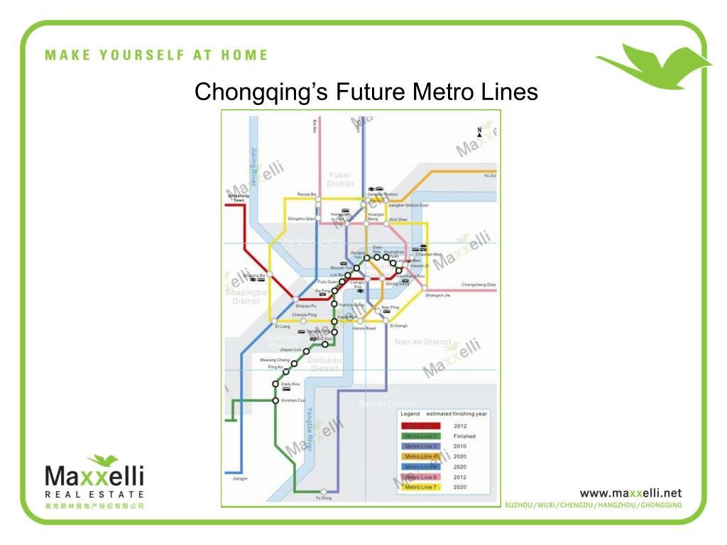 Chongqing's Future Metro Lines