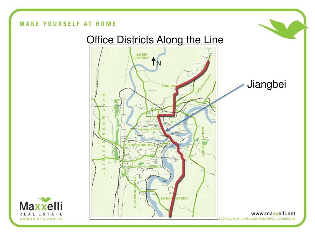 Office Districts Along the Line