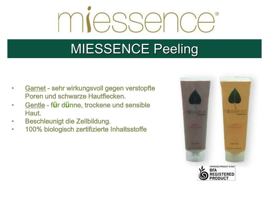 MIESSENCE Peeling