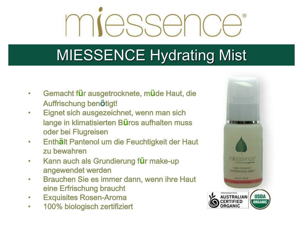 MIESSENCE Hydrating Mist