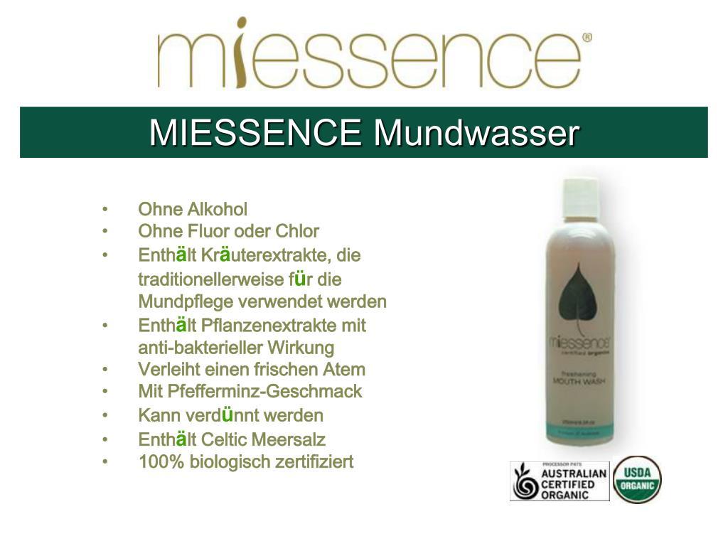 MIESSENCE Mundwasser