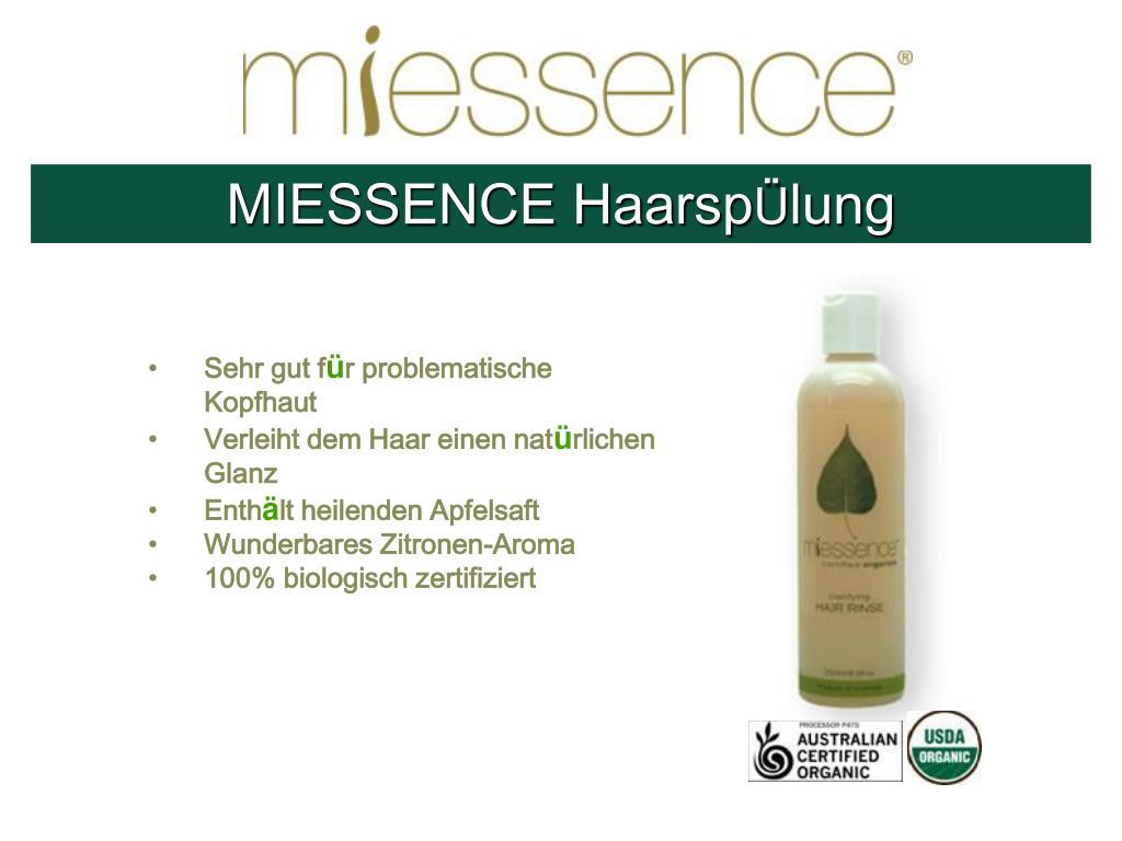 MIESSENCE Haarsp