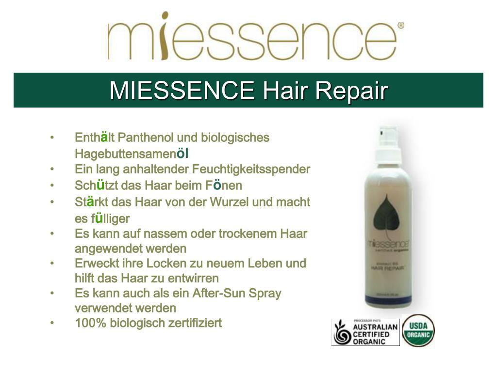 MIESSENCE Hair Repair