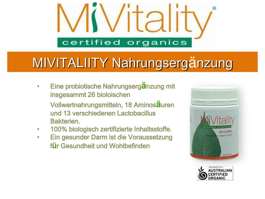 MIVITALIITY Nahrungserg