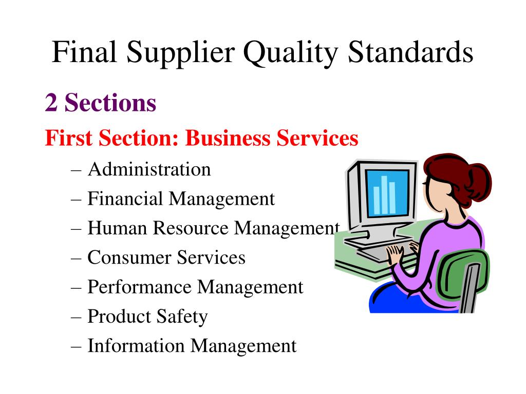 Final Supplier Quality Standards