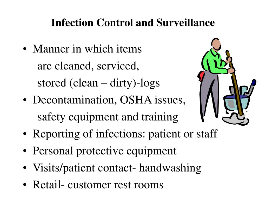 Infection Control and Surveillance