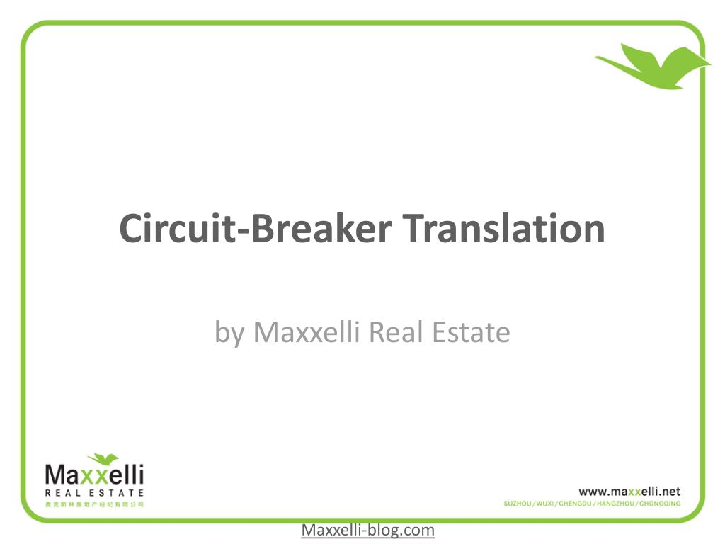 Circuit-Breaker Translation