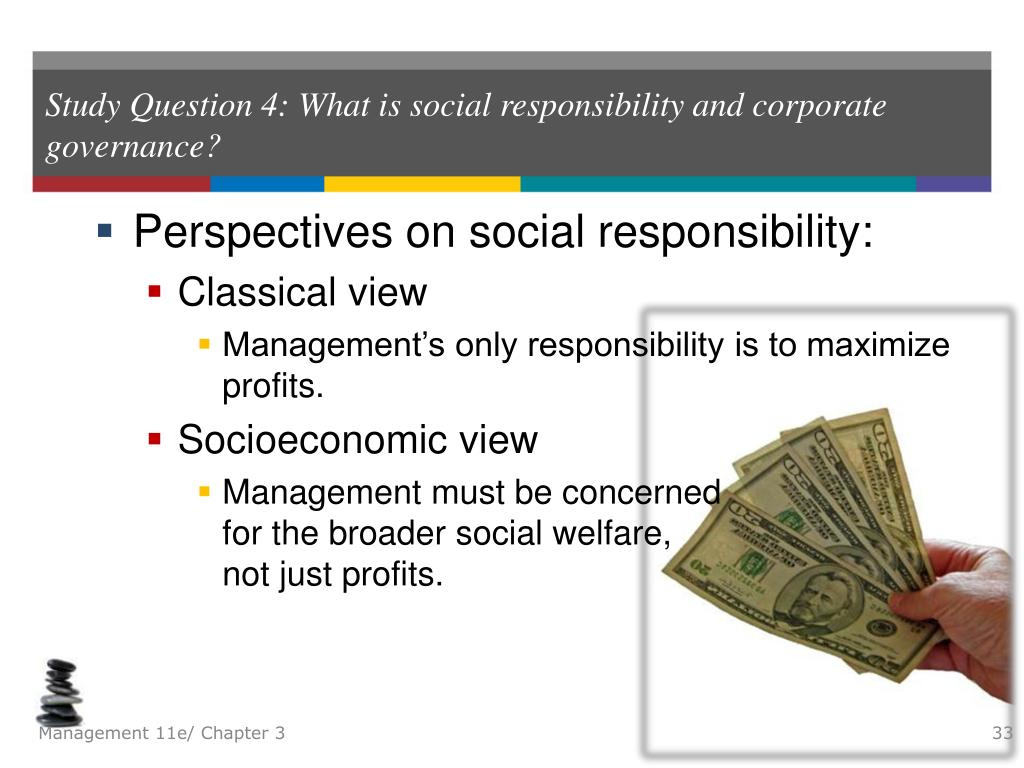 views on corporate social responsibilities Corporate social responsibility is imperative, as most consumers and job seekers consider how businesses deal with their environmental, social and economic impacts.