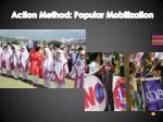 action method popular mobilization