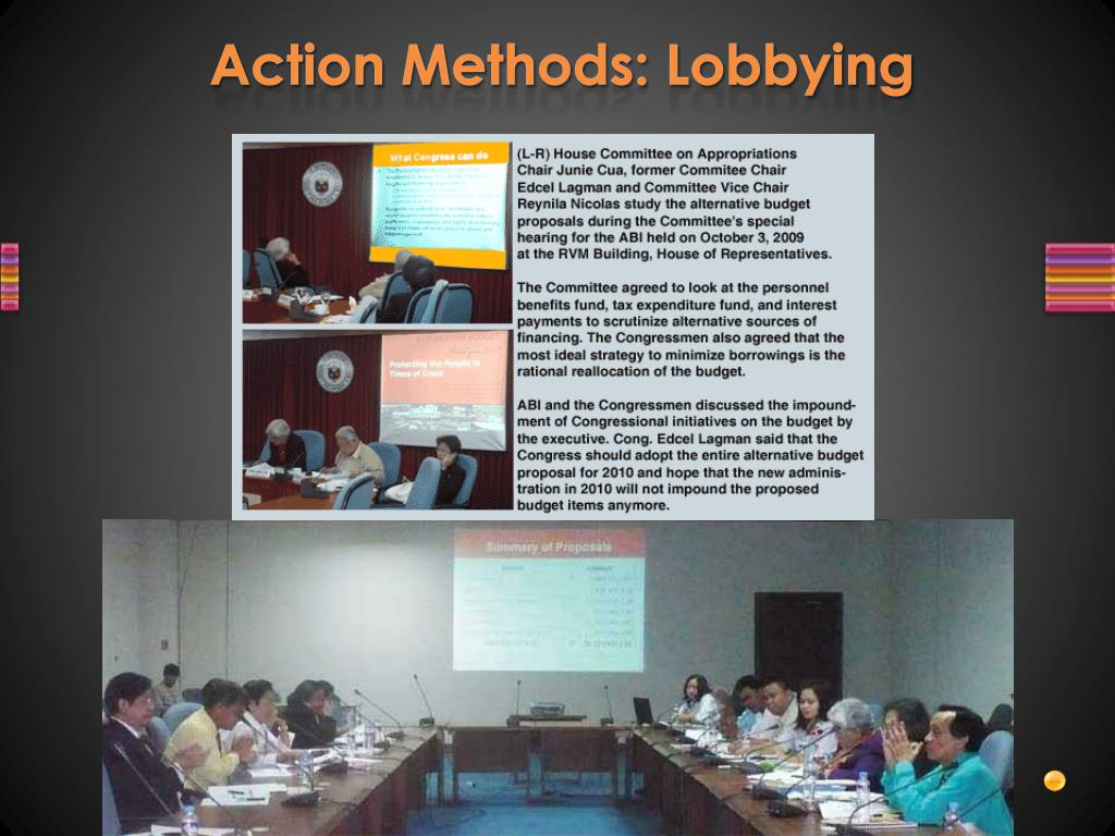 Action Methods: Lobbying