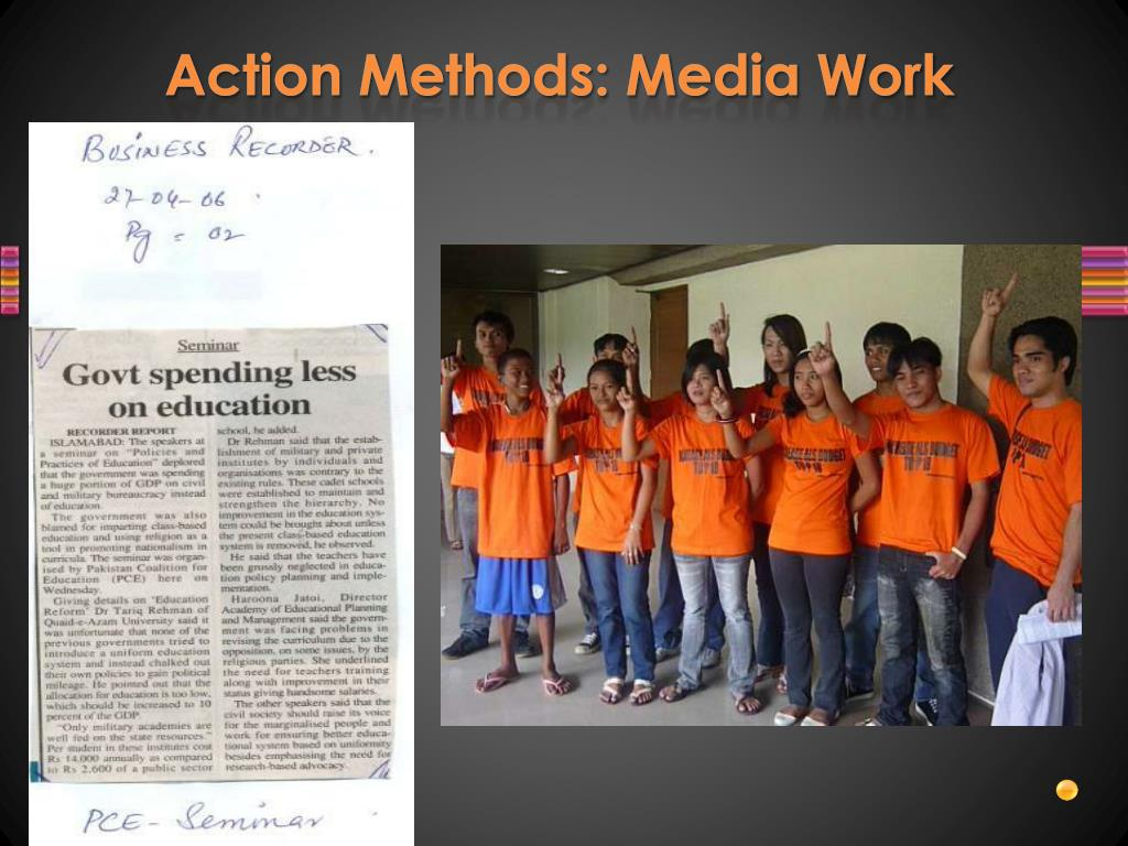 Action Methods: Media Work