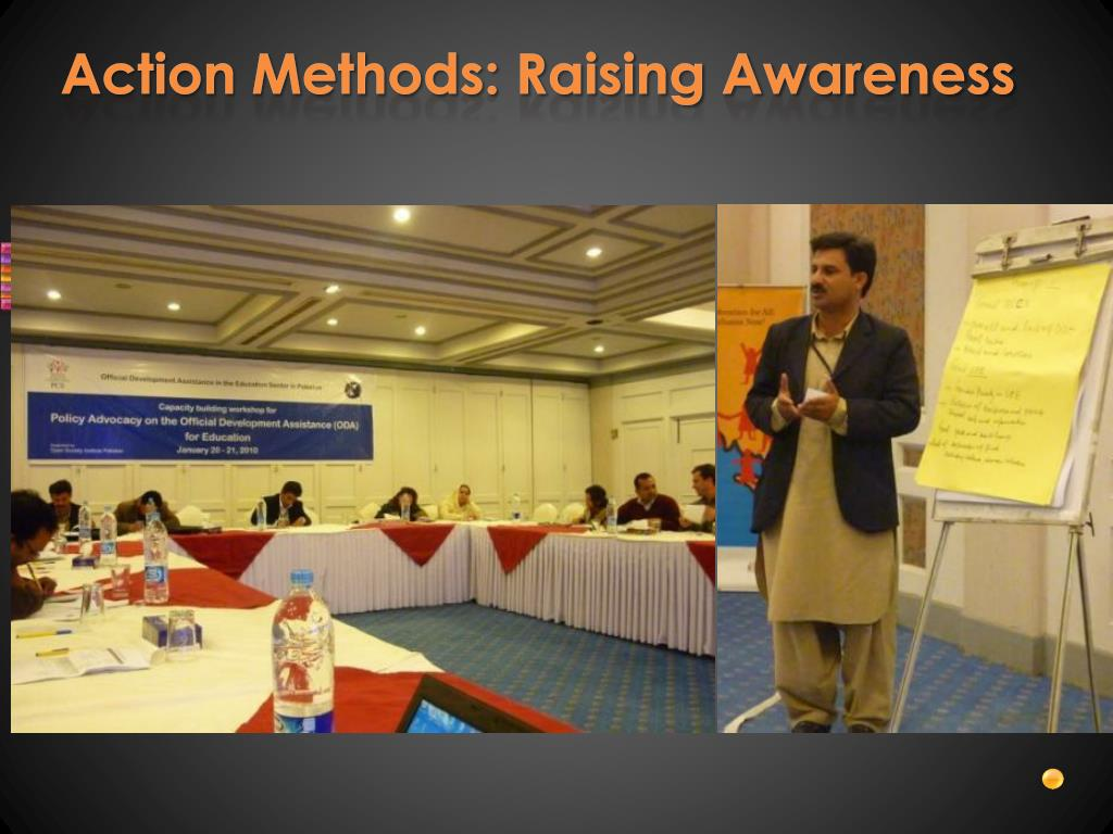 Action Methods: Raising Awareness