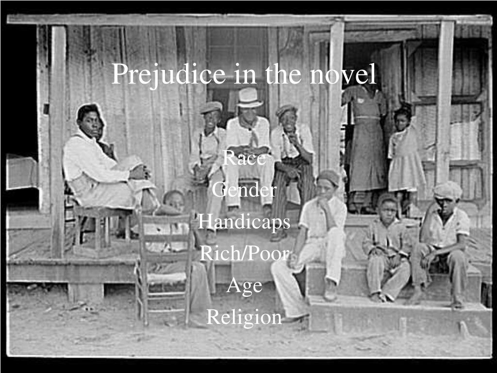 Prejudice in the novel