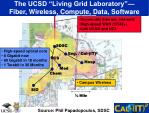 the ucsd living grid laboratory fiber wireless compute data software