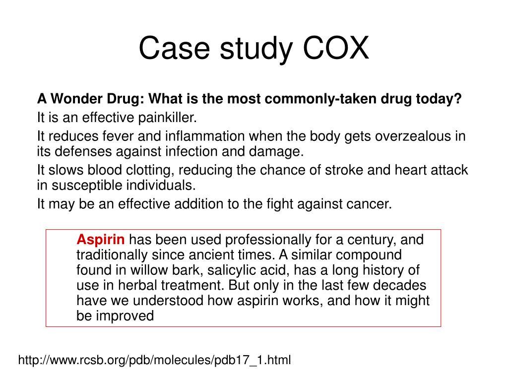 Case study COX