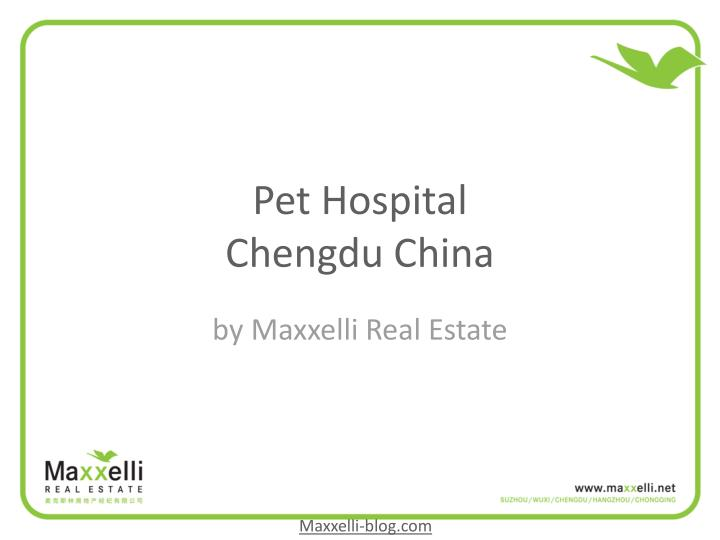 Pet hospital chengdu china