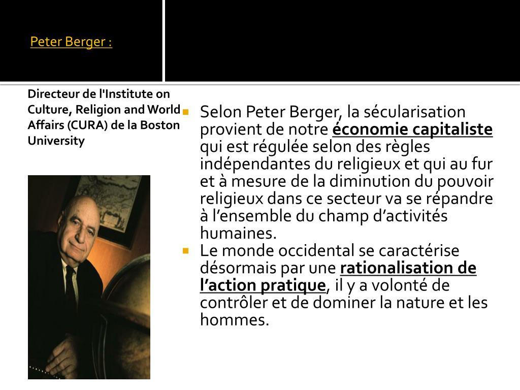 Peter Berger :