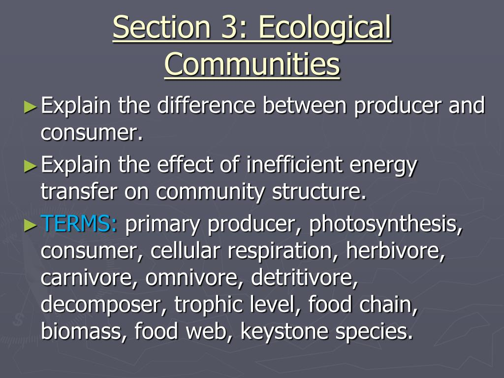 5 3 ecological communities worksheet answers