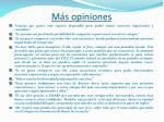 m s opiniones