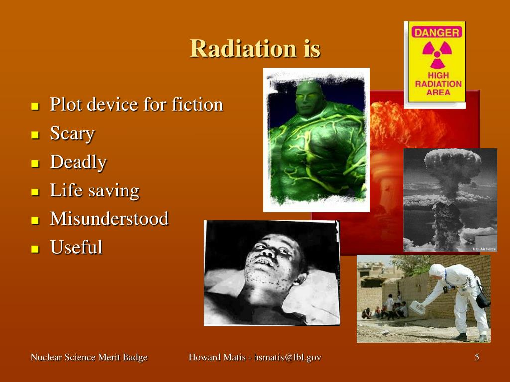 Radiation is