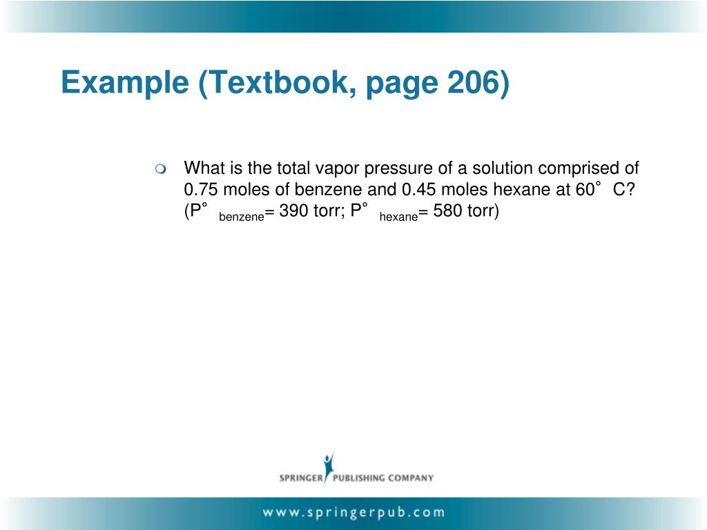 Example (Textbook, page 206)