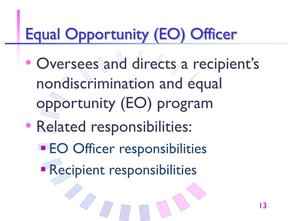 Equal Opportunity (EO) Officer