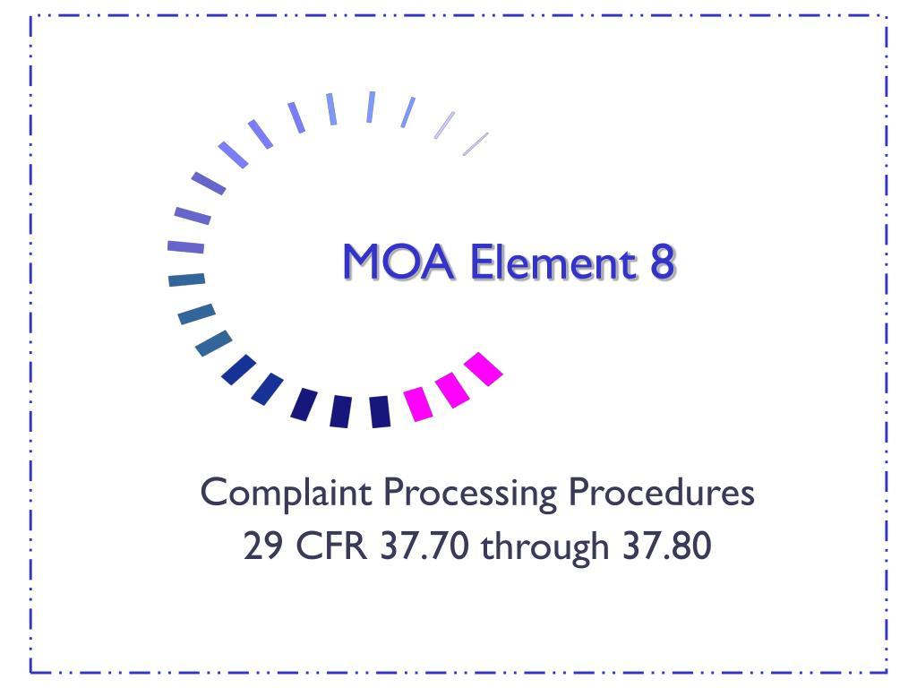 MOA Element 8