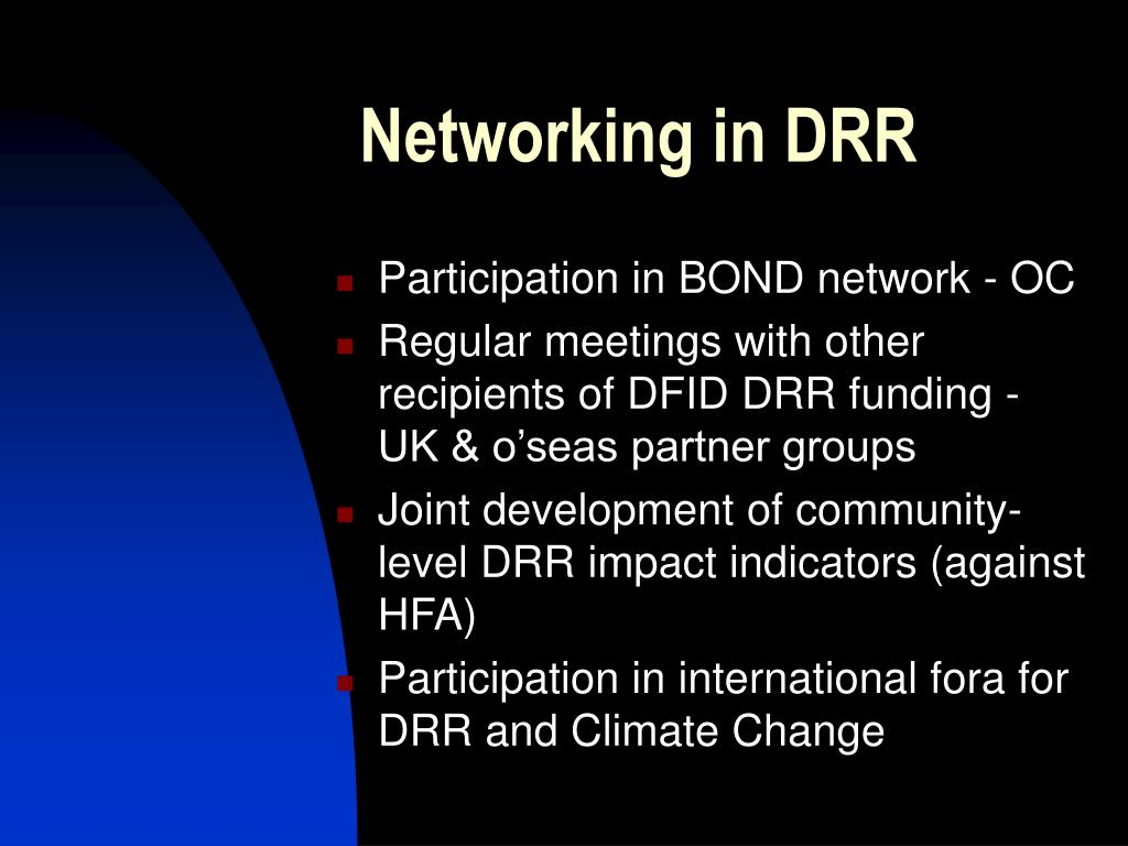 Networking in DRR