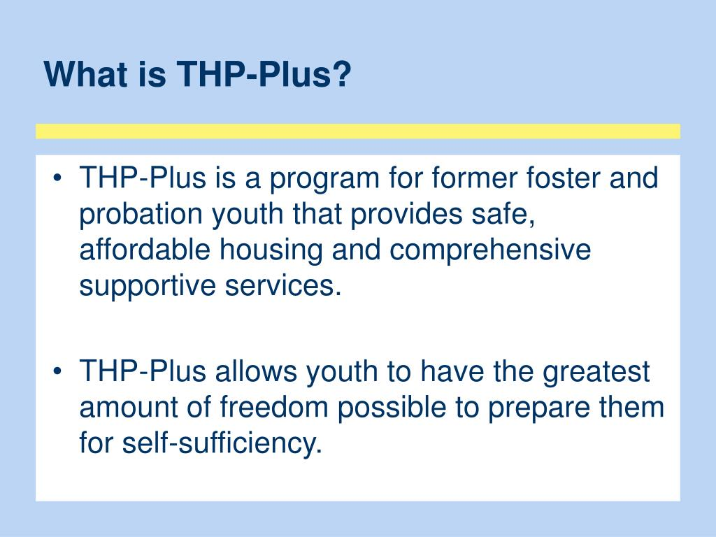 What is THP-Plus?