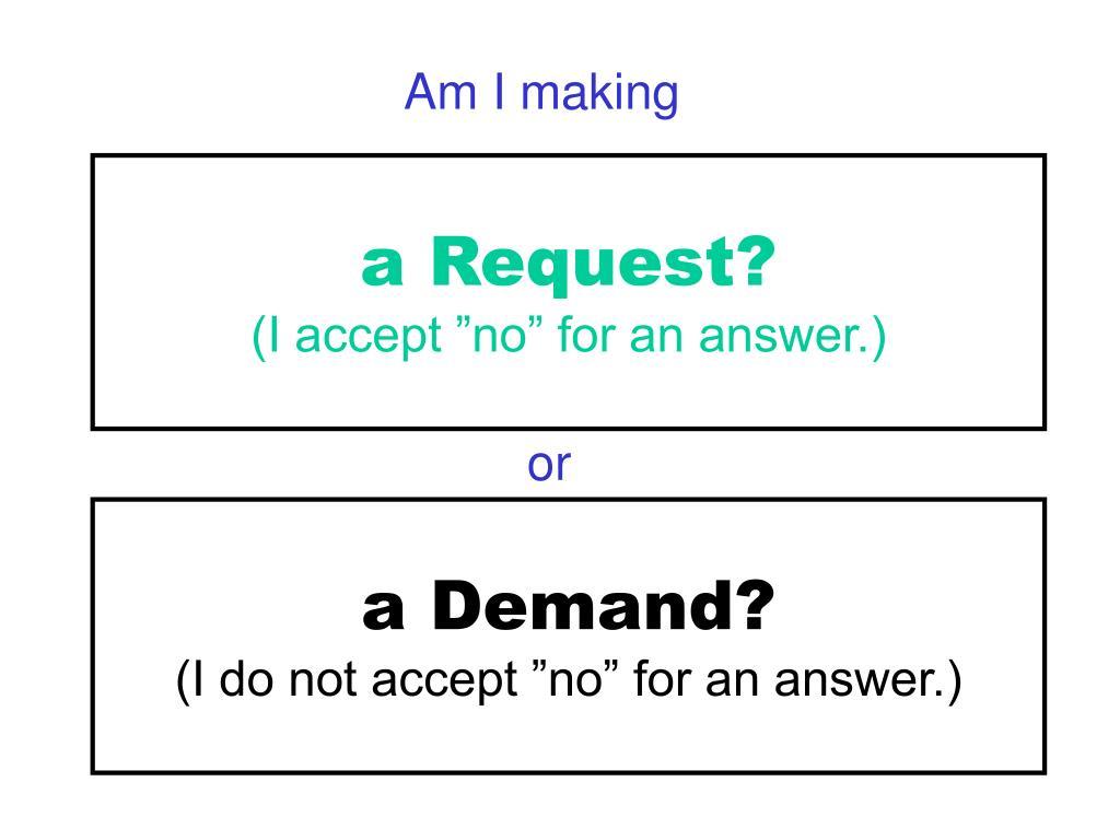 Am I making