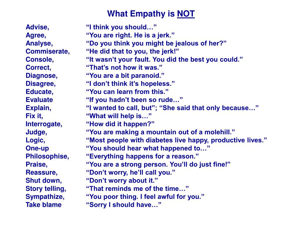 What Empathy is