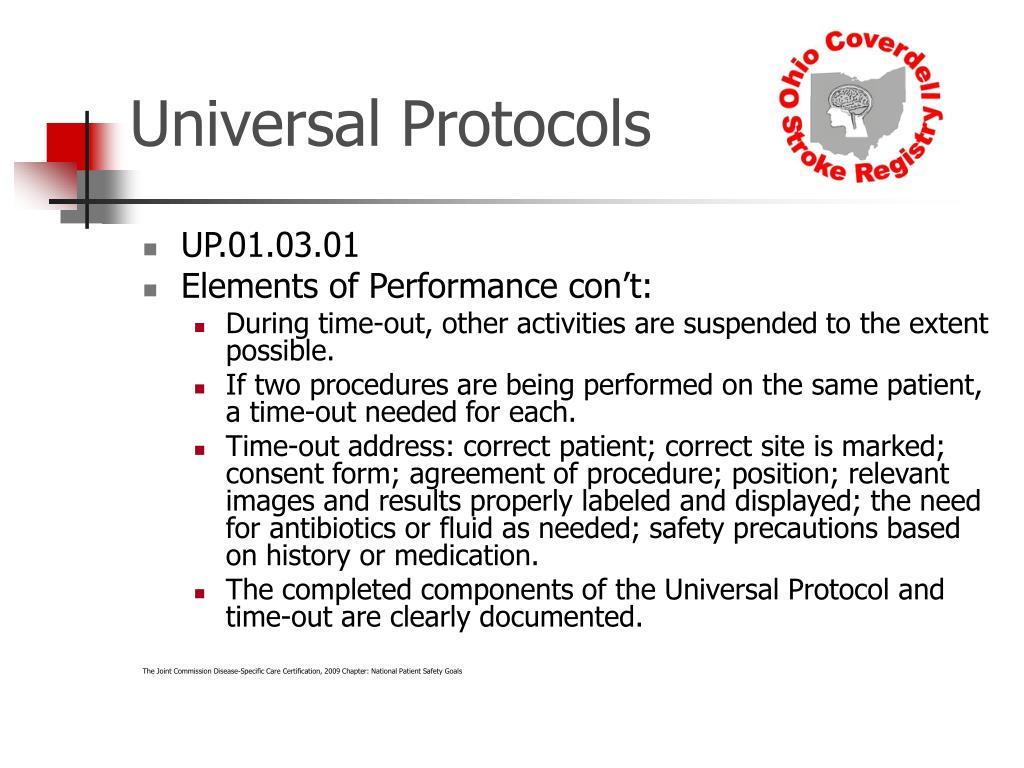 Universal Protocols