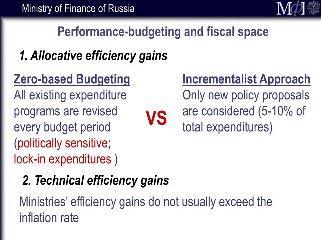 Performance-budgeting and fiscal space
