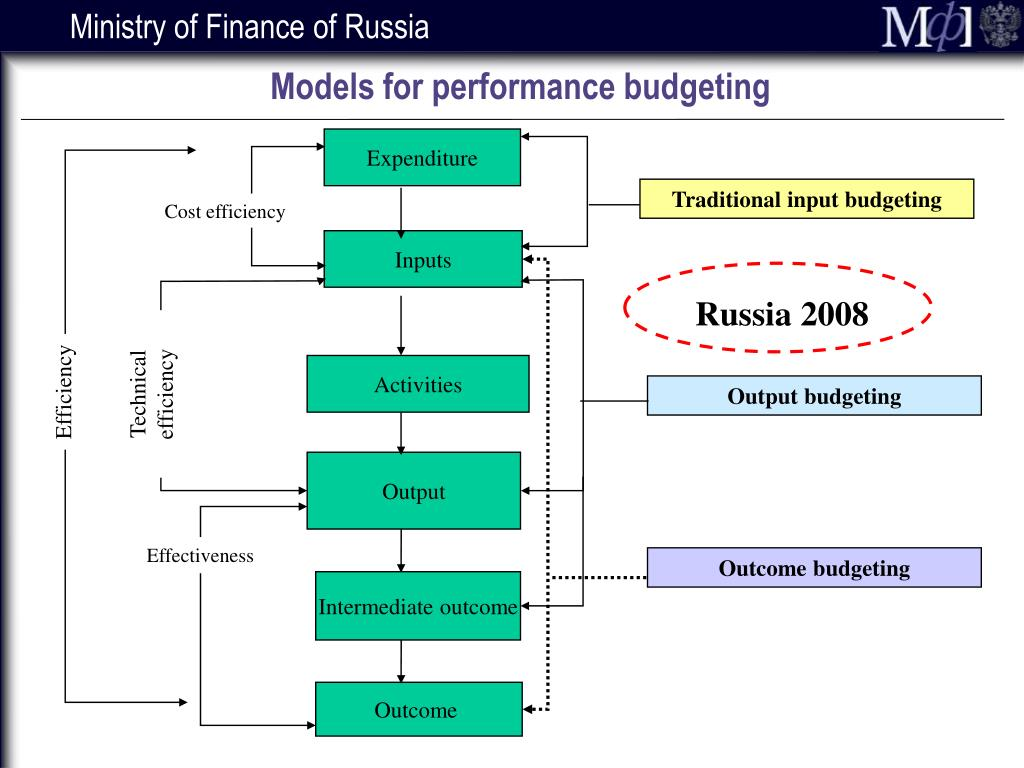 Models for performance budgeting